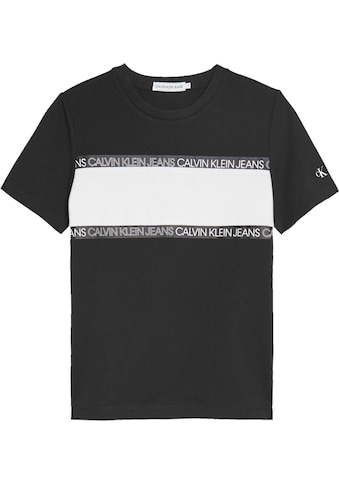 Calvin Klein Jeans T-Shirt »LOGO TAPE COLOUR BLOCK T« kaufen
