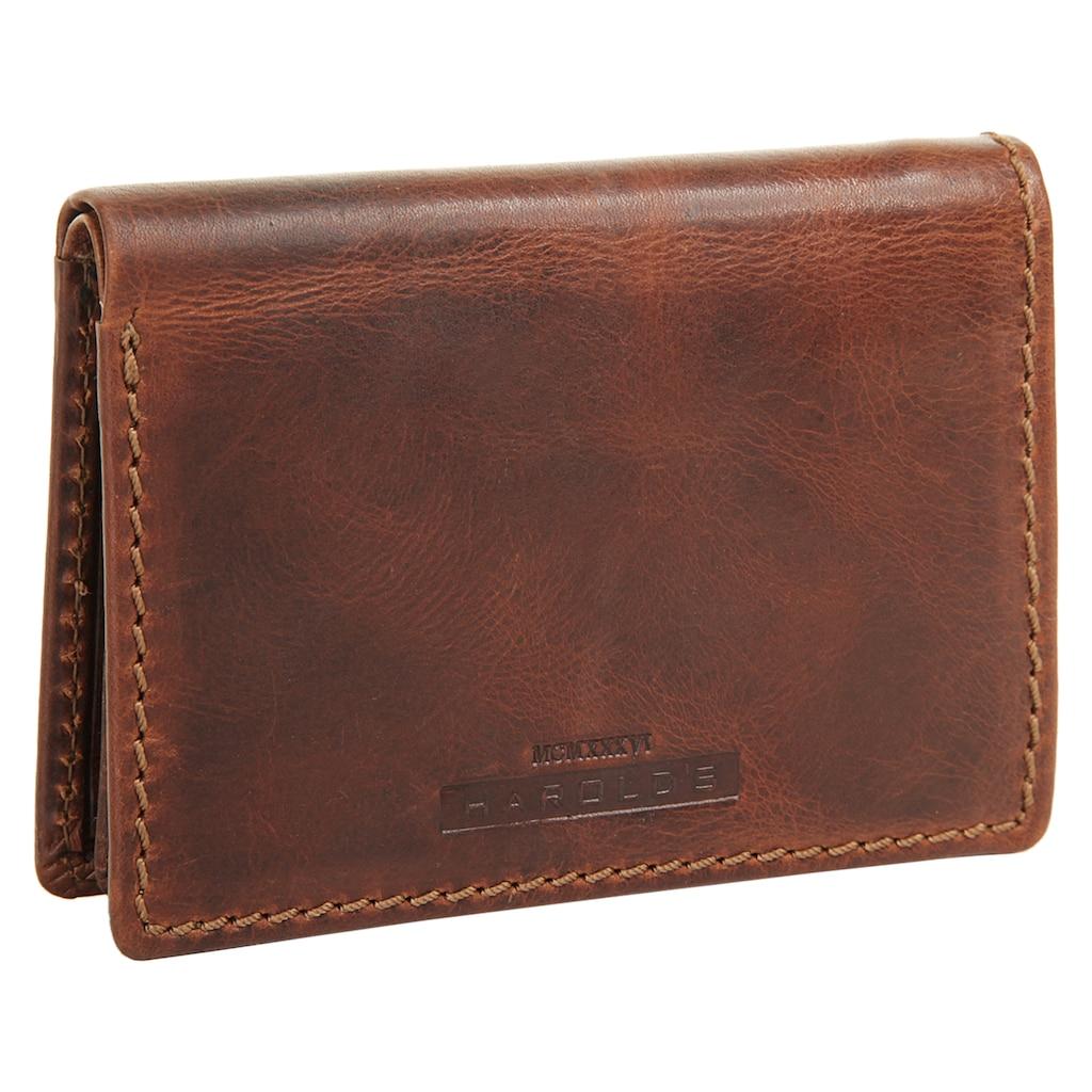 Harold's Geldbörse »SADDLE«, 2fach klappbar