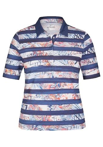 Rabe T-Shirt, mit geringeltem Muster und halblangen Ärmeln kaufen