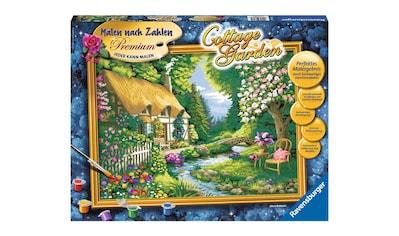 Ravensburger Malen nach Zahlen »Cottage Gardene«, Made in Europe, FSC® - schützt Wald - weltweit kaufen