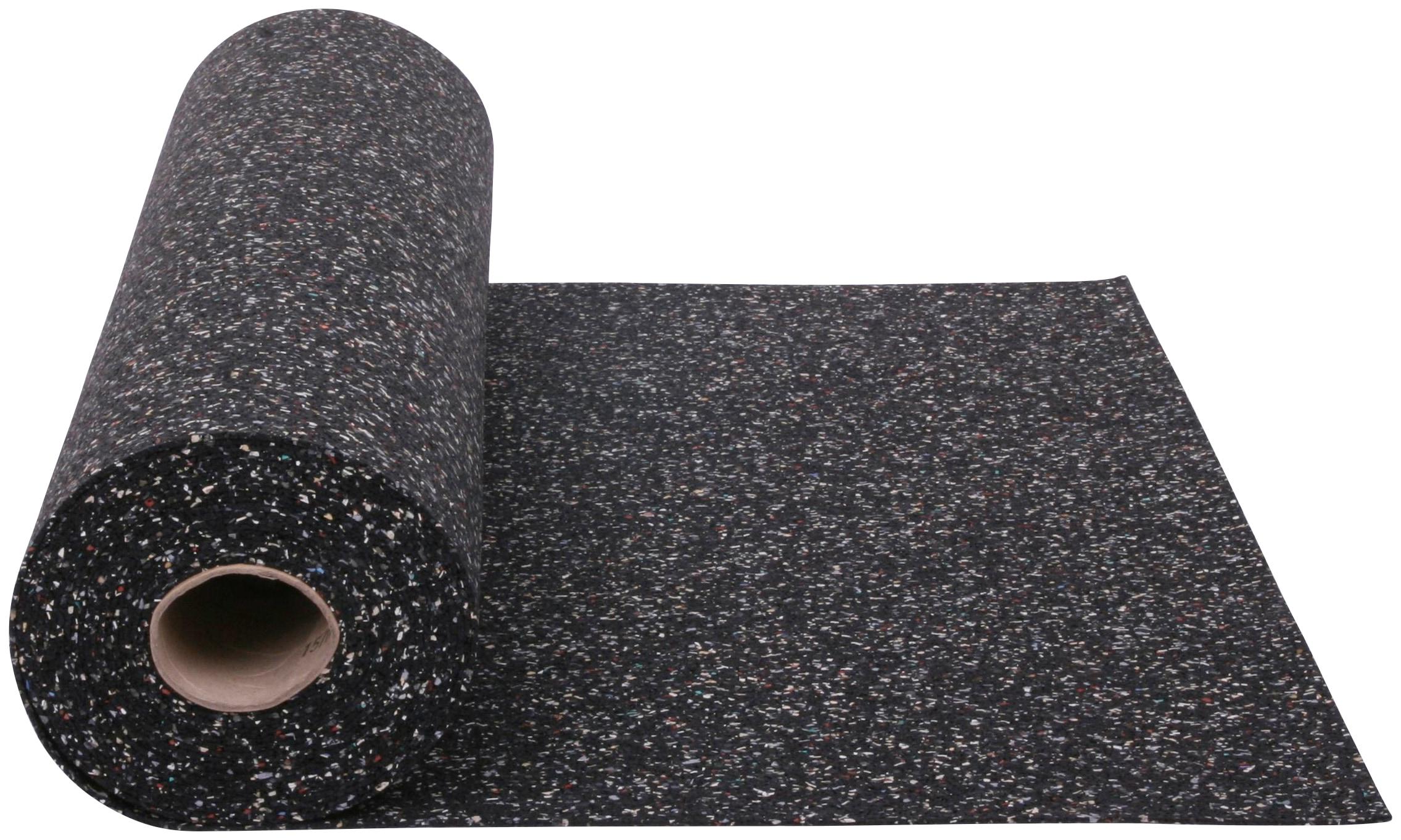 SZ METALL Gummimatte, zur Dämpfung, 100x125 cm (LxB) schwarz Gummimatte Metall