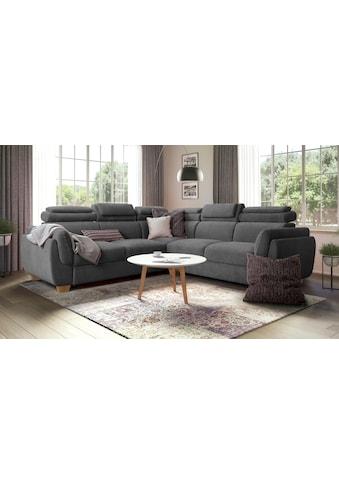 Premium collection by Home affaire Wohnlandschaft »Oviedo« (mit Bettfunktion) kaufen