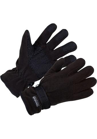 Fleecehandschuhe »0905 - 1000 schwarz«, atmungsaktiv kaufen