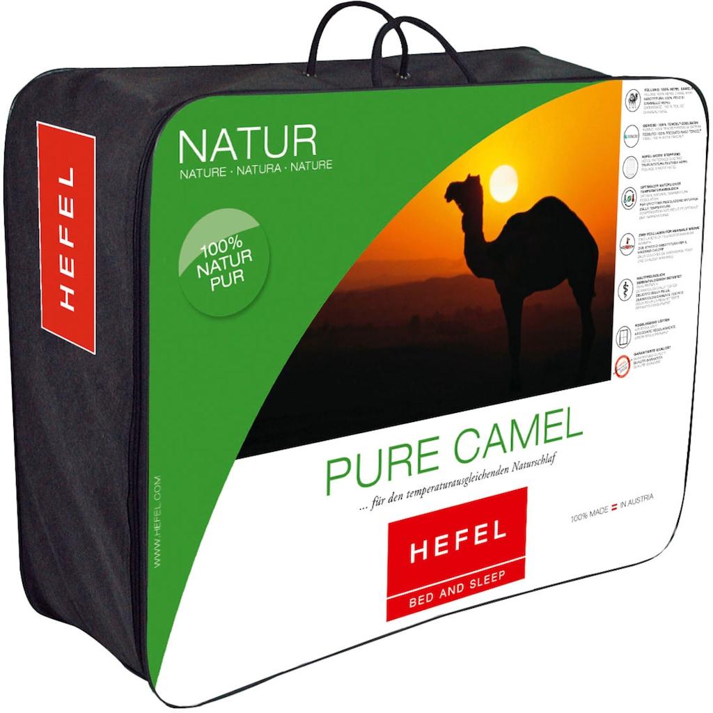 Hefel Naturhaarbettdecke »Pure Camel«, normal, (1 St.)