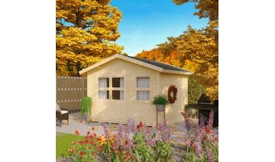 KONIFERA Gartenhaus »Blankenese 3«, BxT: 342x293 cm, inkl. Fußboden kaufen