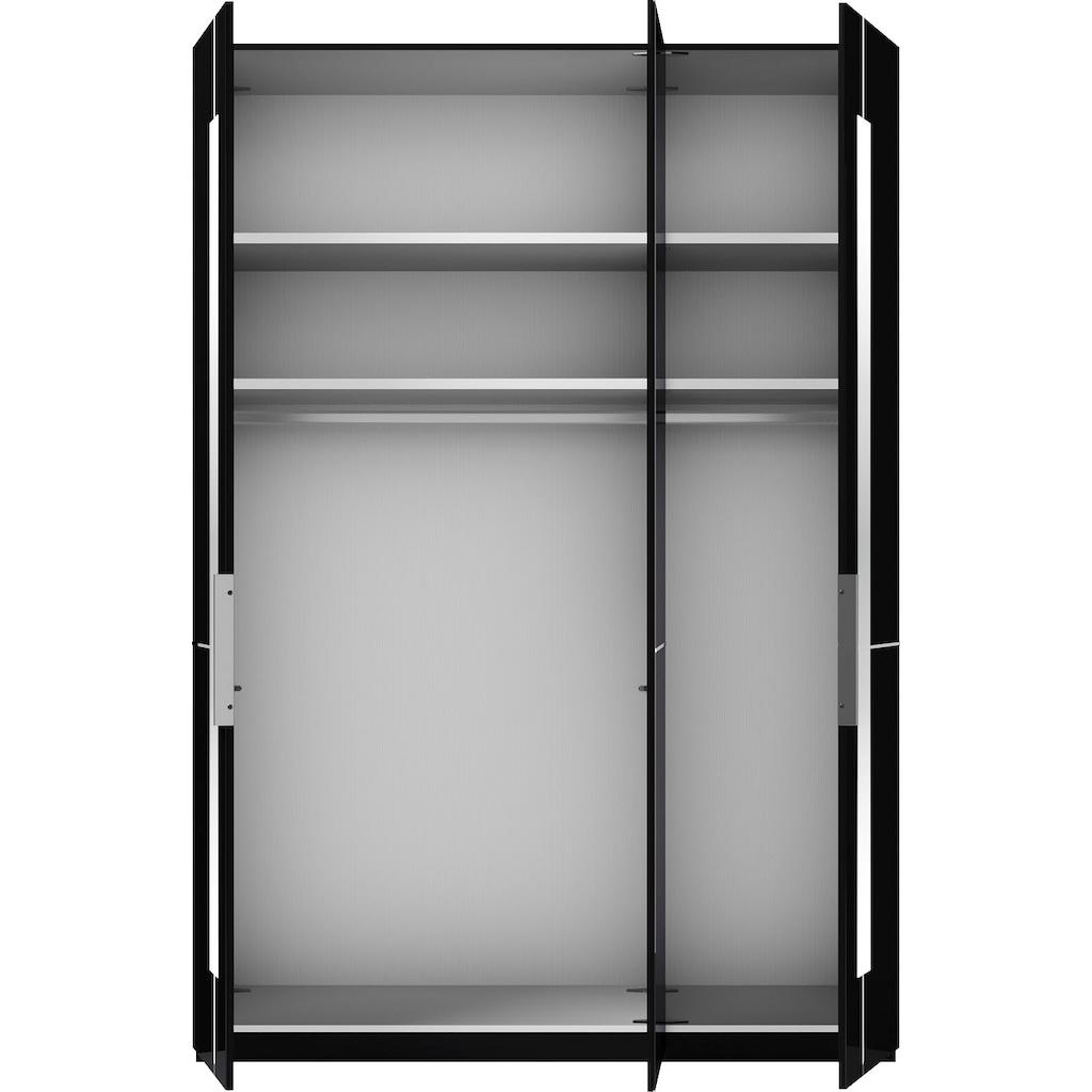 GALLERY M Drehtürenschrank »Imola W«, inkl. Einlegeböden und Kleiderstangen, mit Glastüren inklusive Zierspiegel, in zwei Höhen und vier Breiten