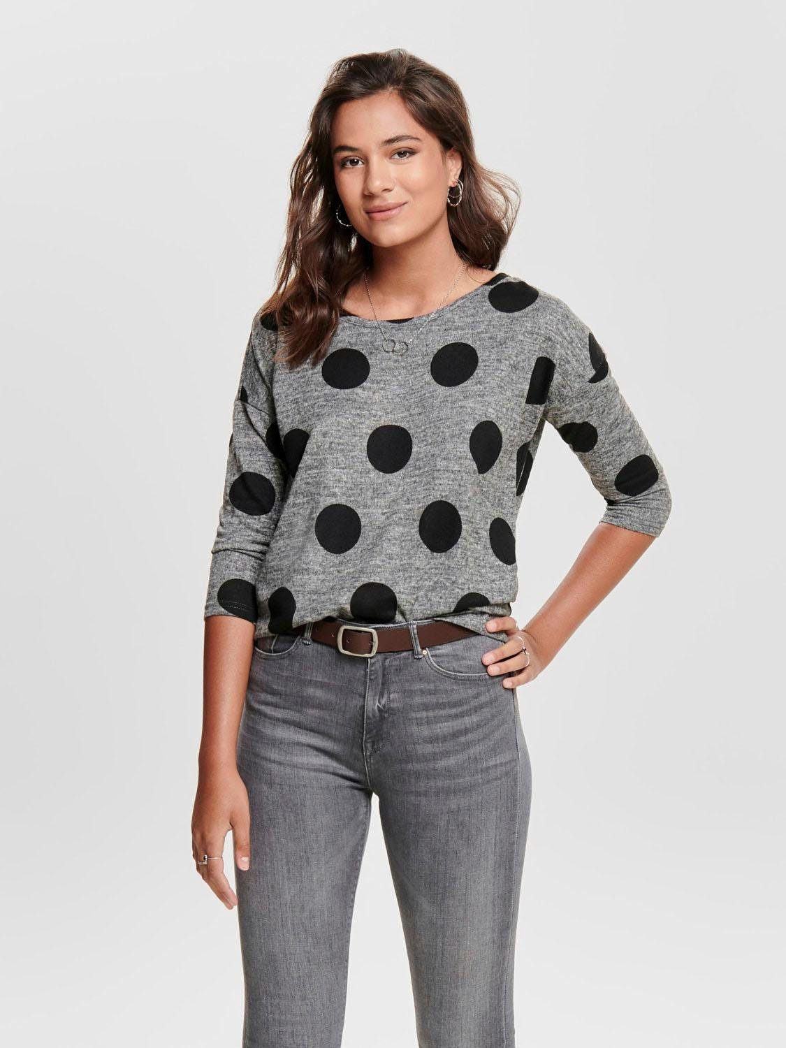 Only 3/4 Arm-Pullover ELCOS | Bekleidung > Pullover > 3/4 Arm-Pullover | Only