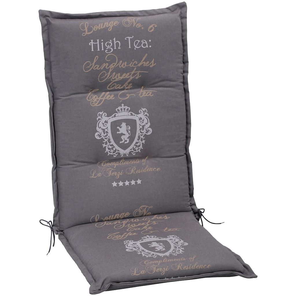 GO-DE Hochlehnerauflage »High Tea«