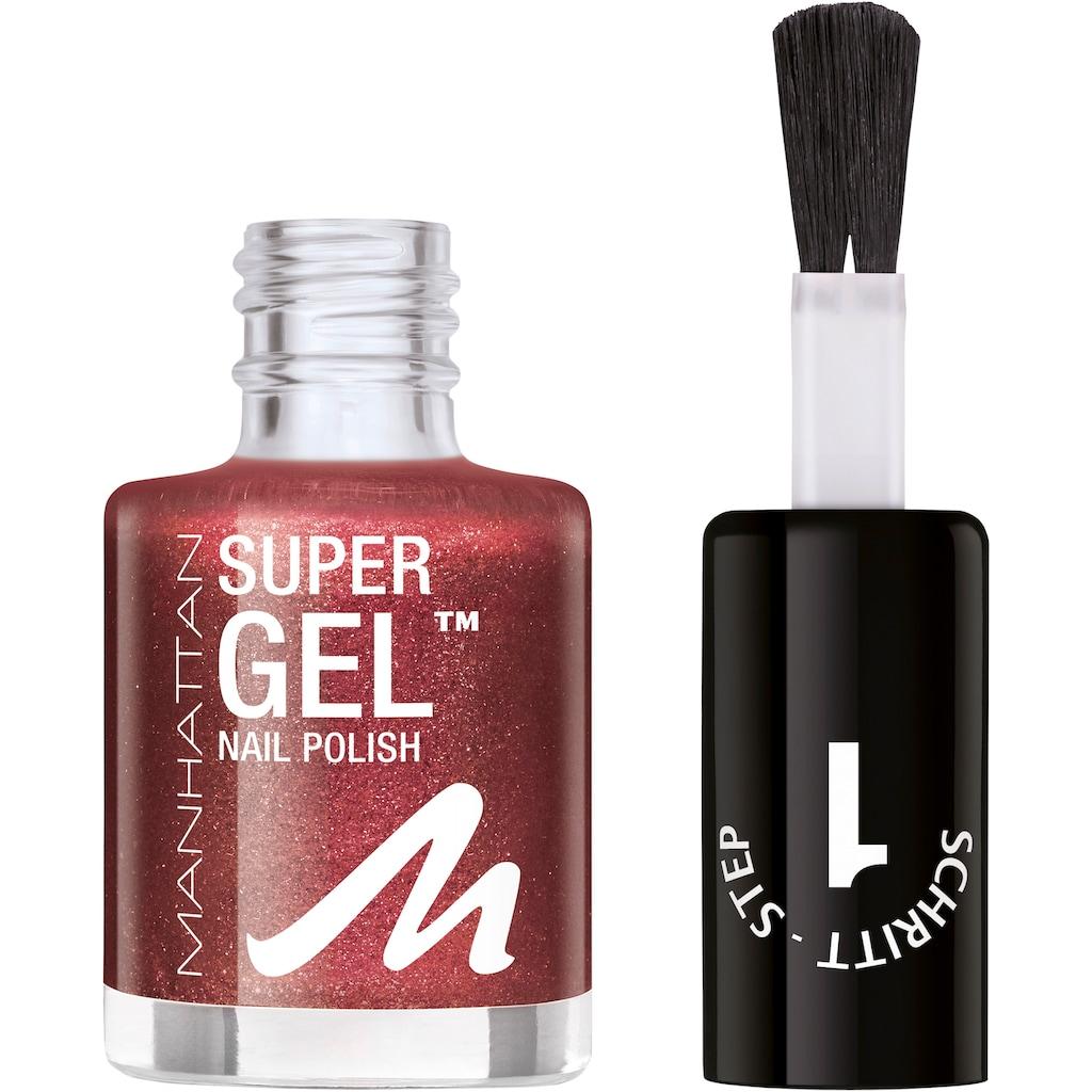 MANHATTAN Gel-Nagellack »Super Gel«