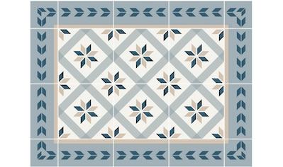 Contento Platzset »Matteo, Fliesen, blau«, (Set, 4 St.), für innen und außen geeignet,... kaufen