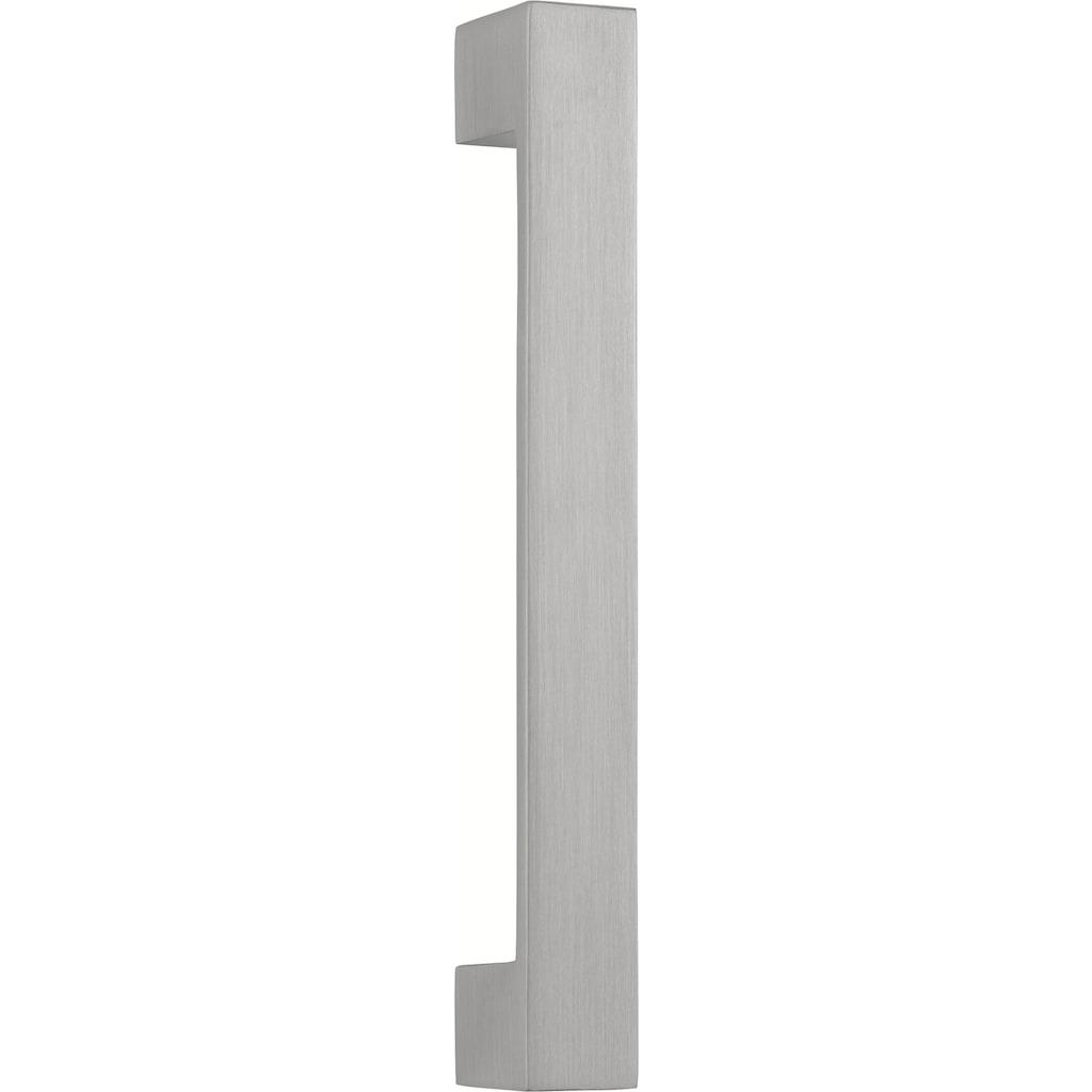 HELD MÖBEL Backofen/Kühlumbauschrank »Tinnum«, 60 cm breit, 200 cm hoch, Metallgriffe, MDF Fronten, für autarken Backofen, sowie Einbau-Kühlschrank mit Nischenmaß 88 cm
