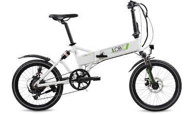 LLobe E-Bike »City III weiß« kaufen