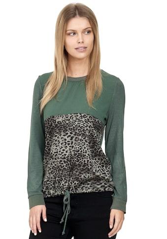 Decay Langarmshirt, mit modernem Leo-Design kaufen