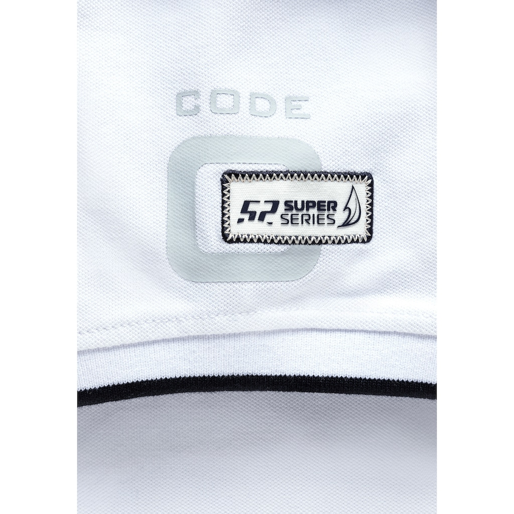 CODE-ZERO Poloshirt »Portals Sailing Week Polo Damen«, Knöpfe