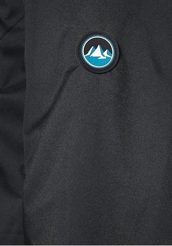 Polarino Funktionsjacke, Seitliche Schlitze mit Reißverschluss kaufen