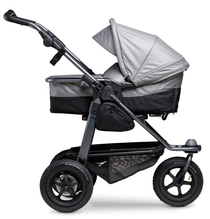 tfk Kombi-Kinderwagen mono grau Kinder Kombikinderwagen Kinderwagen Buggies