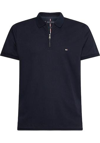 TOMMY HILFIGER Poloshirt, Kragen mit Reißverschluss kaufen