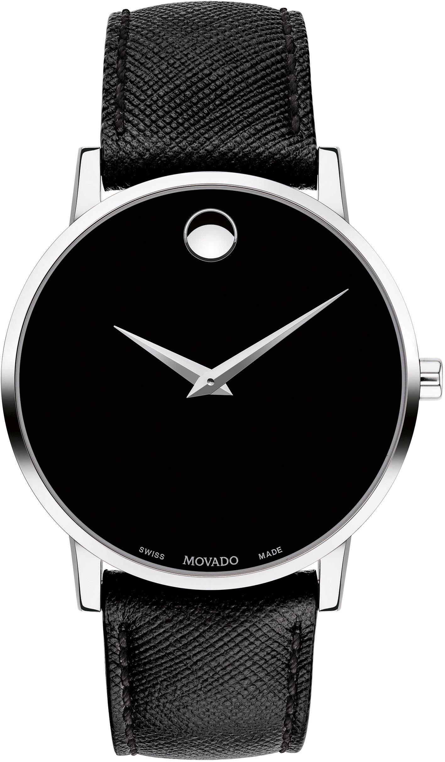 MOVADO Schweizer Uhr MUSEUM 607194 | Uhren > Schweizer Uhren | Schwarz | Movado
