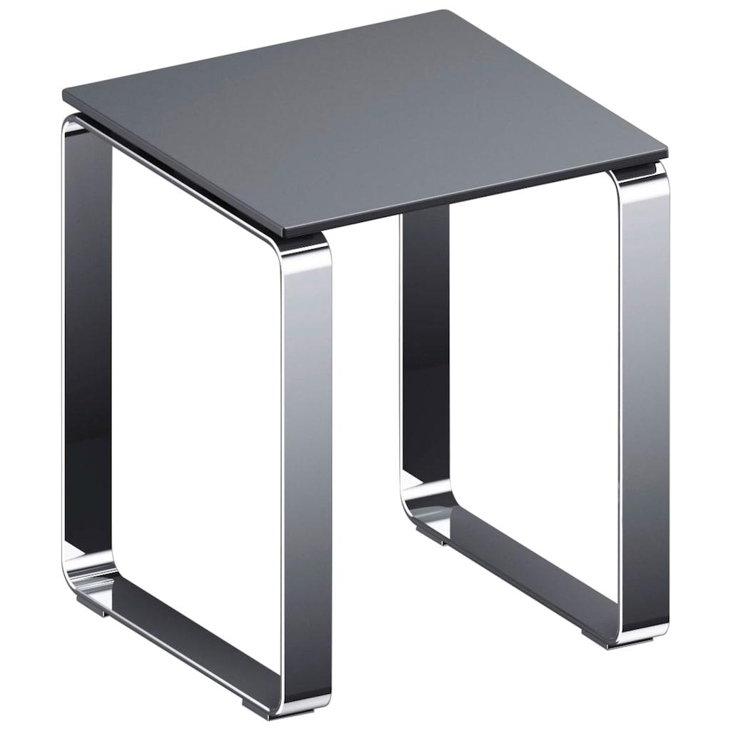 Provex Duschhocker »Serie 500«, belastbar bis 160 kg, grau