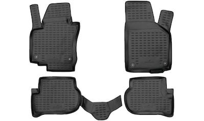 WALSER Passform-Fußmatten »XTR«, VW, Golf V Plus, Schrägheck, (4 St., 2 Vordermatten,... kaufen