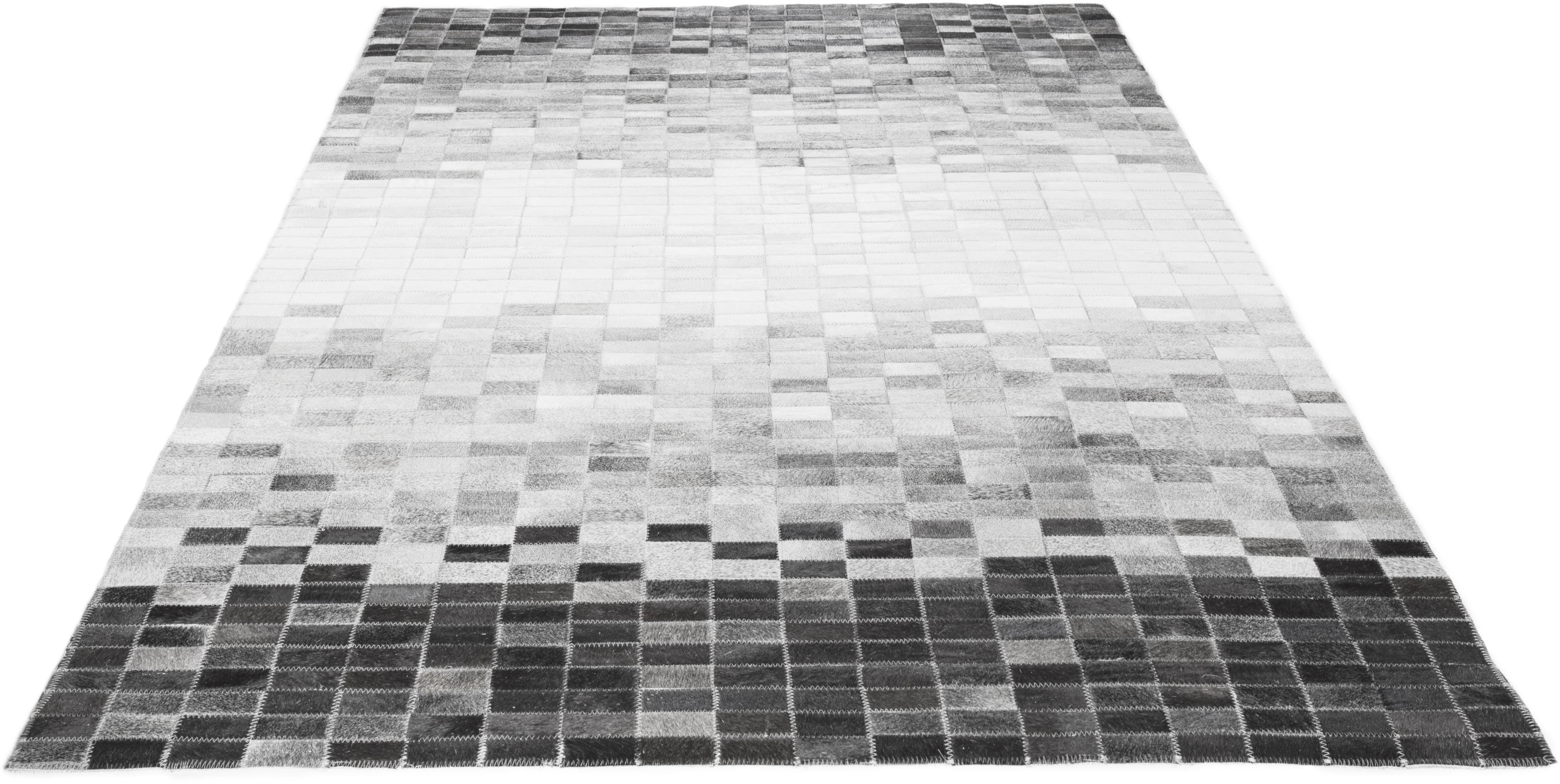 Fellteppich Porto Allegre LUXOR living rechteckig Höhe 4 mm Naturprodukt