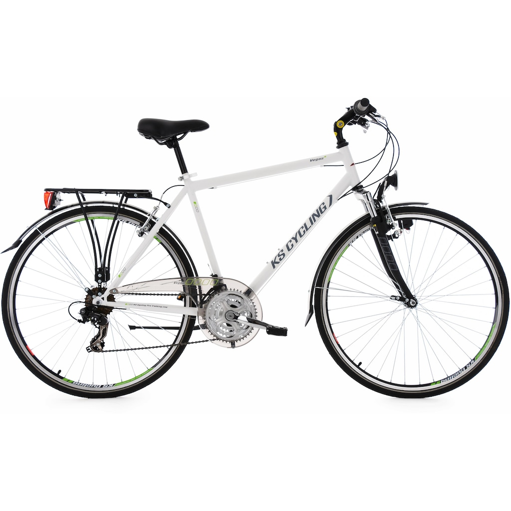 KS Cycling Trekkingrad »Vegas«, 21 Gang, Shimano, Tourney TX Schaltwerk, Kettenschaltung