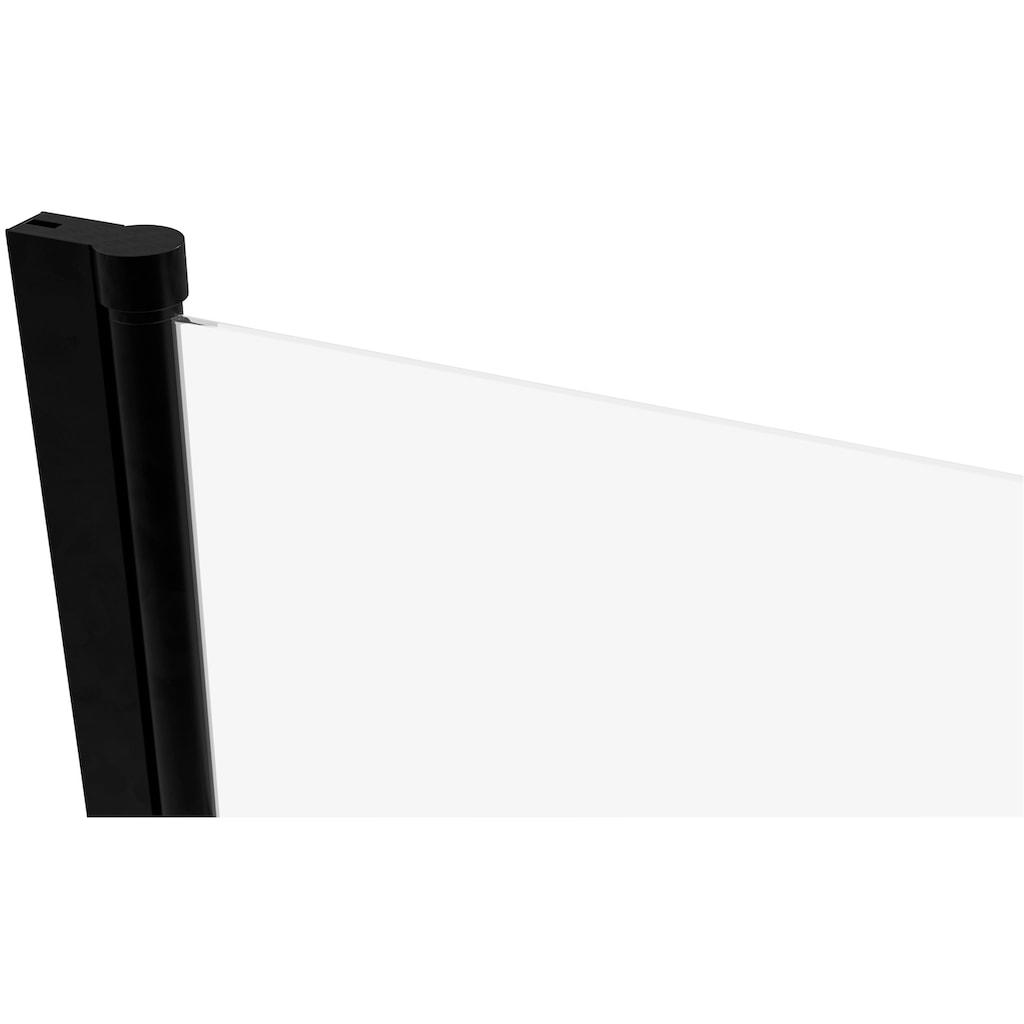 Marwell Badewannenfaltwand »FACTORY«, schwarz