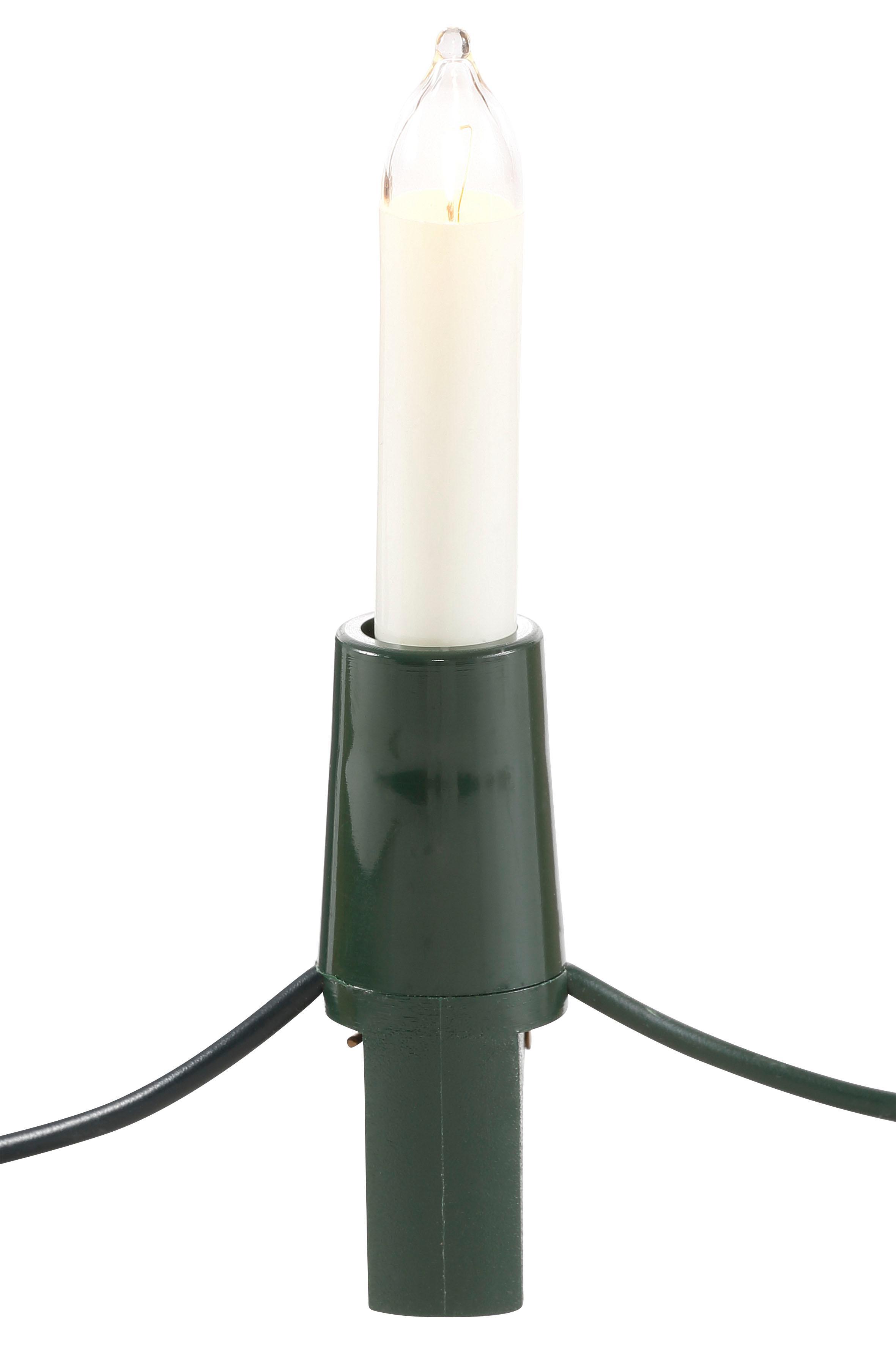 Lichterkette Christbaumlichterkette weiß Deko-Lichterketten und Lichtschlauch Dekoleuchten Lampen Leuchten Lichterketten