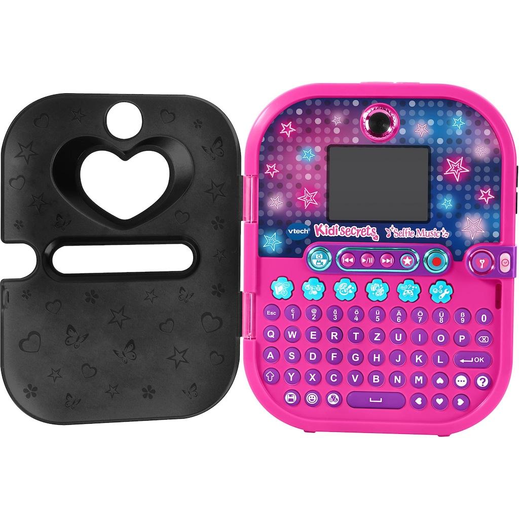 Vtech® Elektronisches Tagebuch »Kidisecrets Selfie Music«, mit Kamera und MP3-Player