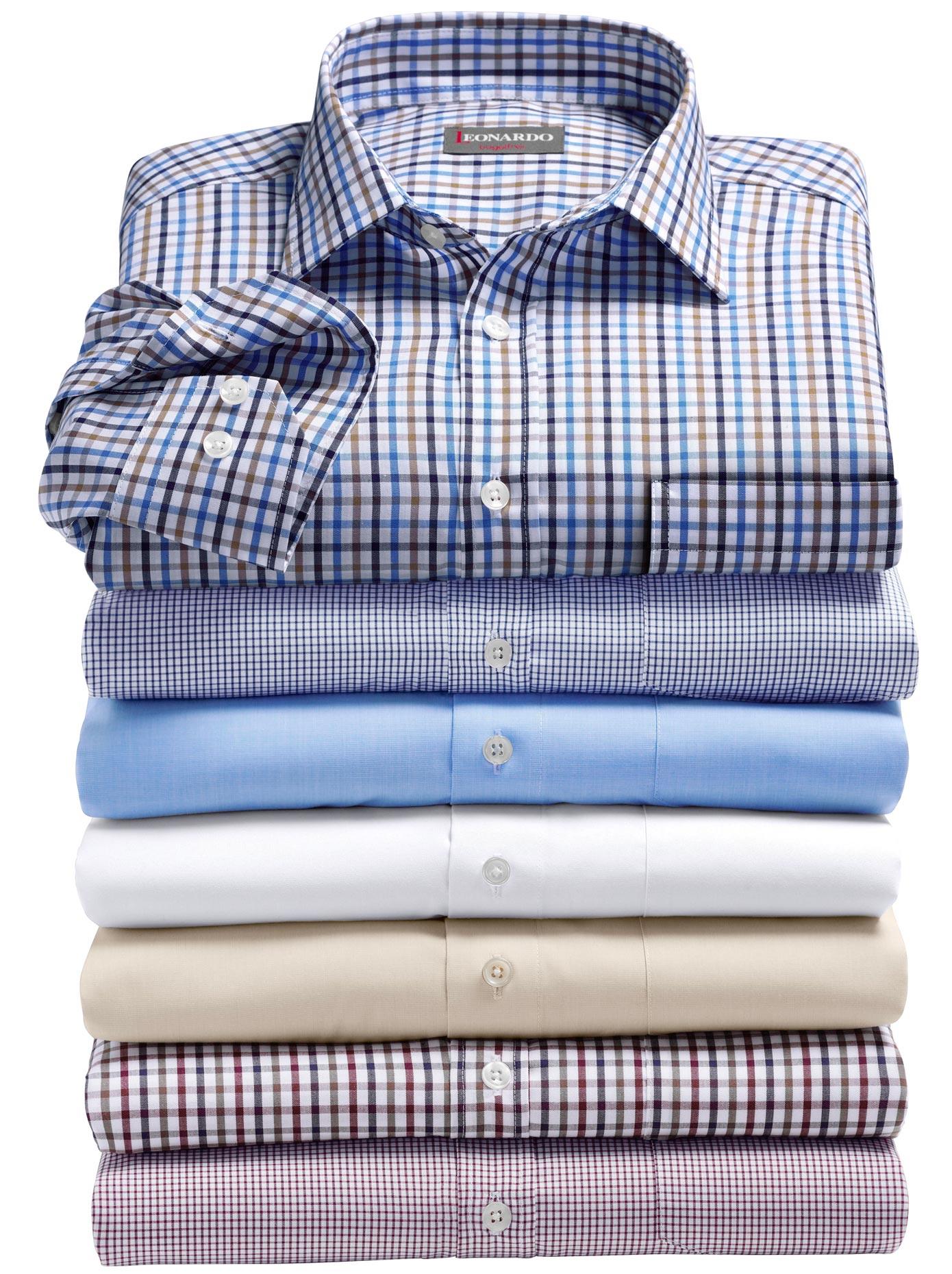 Classic Langarm-Hemd in feiner Dessinierung   Bekleidung > Hemden > Sonstige Hemden   Blau   Classic