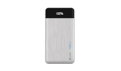 XLAYER Zusatzakku »Powerbank X - Charger Silver 10000mAh Smartphones/Ta« kaufen