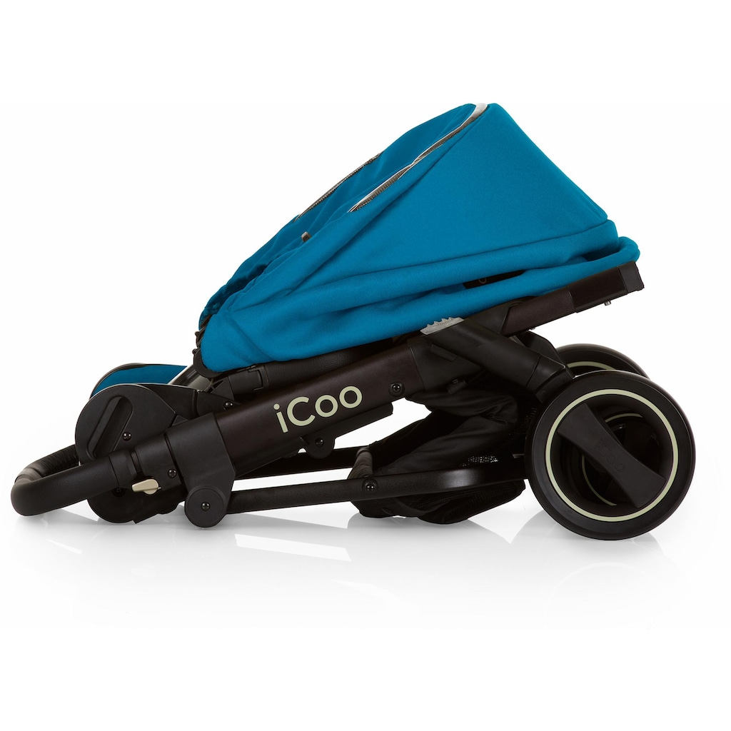 iCoo Kombi-Kinderwagen »Acrobat XL Plus Trio Set Diamond Saphire«, 15 kg, ; Kinderwagen