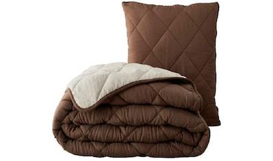 MPS TEXTILES Kopfkissen »Magic Pillow«, (1 St.), 2/1 Funktion /Decke & Kissen kaufen