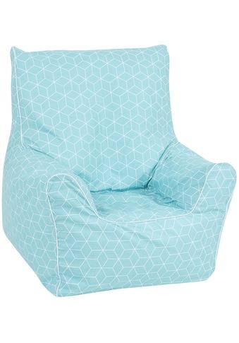 Knorrtoys® Sitzsack »Geo cube, neo mint« kaufen