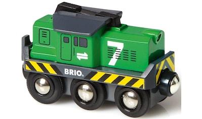 BRIO® Spielzeug-Eisenbahn »BRIO® WORLD Batterie Frachtlok«, mit LichtfunktionMade in... kaufen