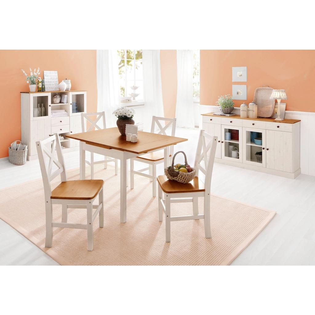 Home affaire 4-Fußstuhl »Stuhlparade«