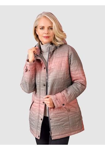Paola Steppjacke, im modischen Farbverlauf kaufen