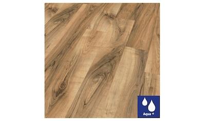 EGGER Packung: Laminat »HOME Aqua+ Perganti Nussbaum braun«, wasserbeständig, 1,994 m²/Pkt., Stärke: 8 mm kaufen