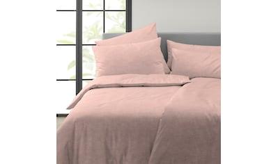 Covered Bettwäsche »Solid«, Uni Bettwäsche für das ganze Jahr kaufen