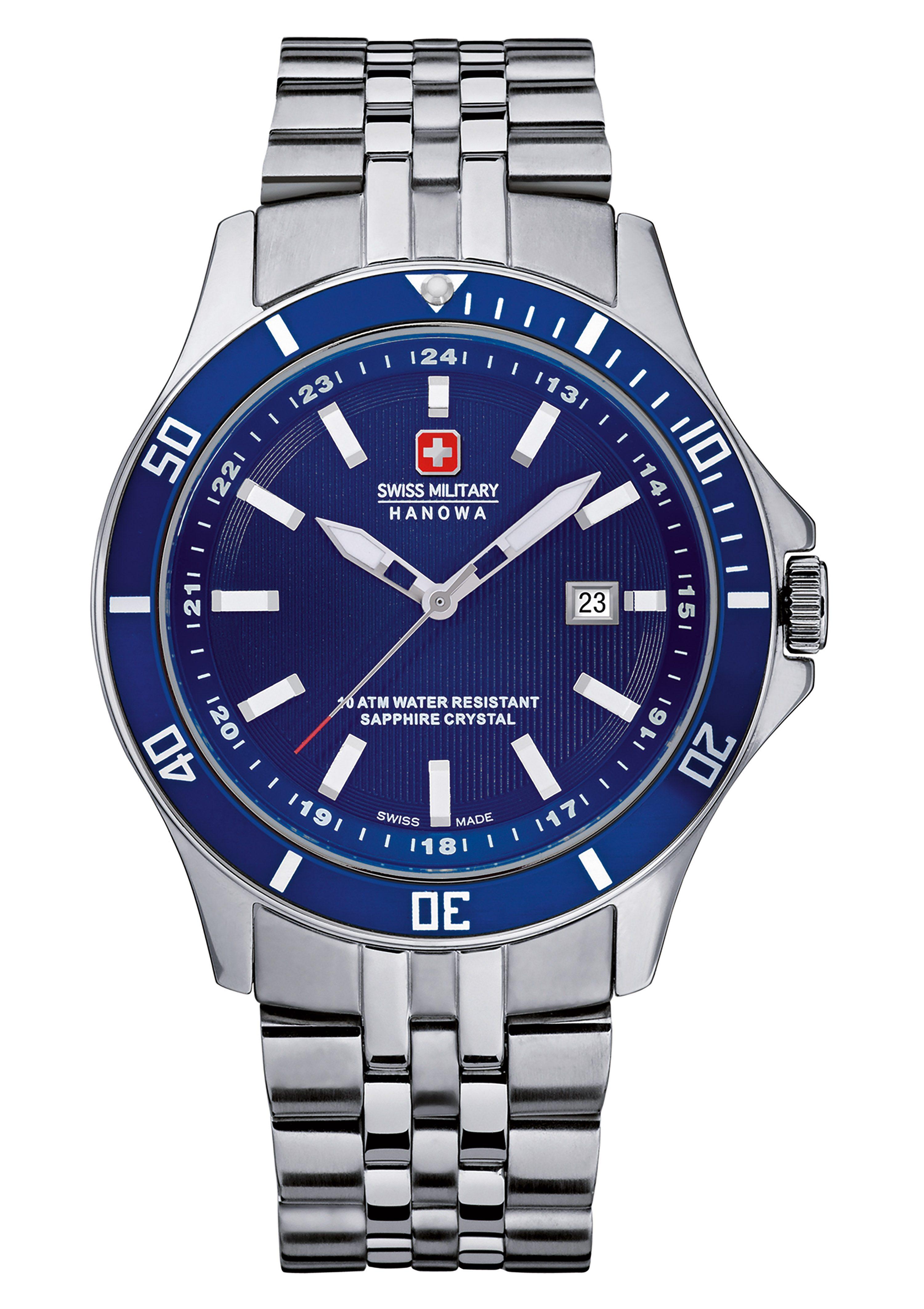 Swiss Military Hanowa Schweizer Uhr FLAGSHIP 6-5161204003 Preisvergleich