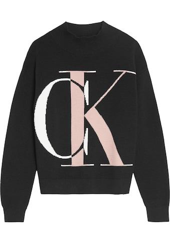 Calvin Klein Jeans Strickpullover »OCO EXPLODED MONOGRAM« kaufen