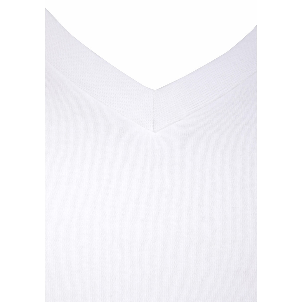 Levi's® T-Shirt, mit V-Neck (2 Stück)