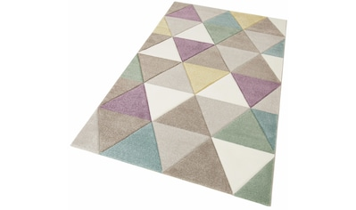 Teppich, »Pastel 21646«, merinos, rechteckig, Höhe 13 mm, maschinell gewebt kaufen