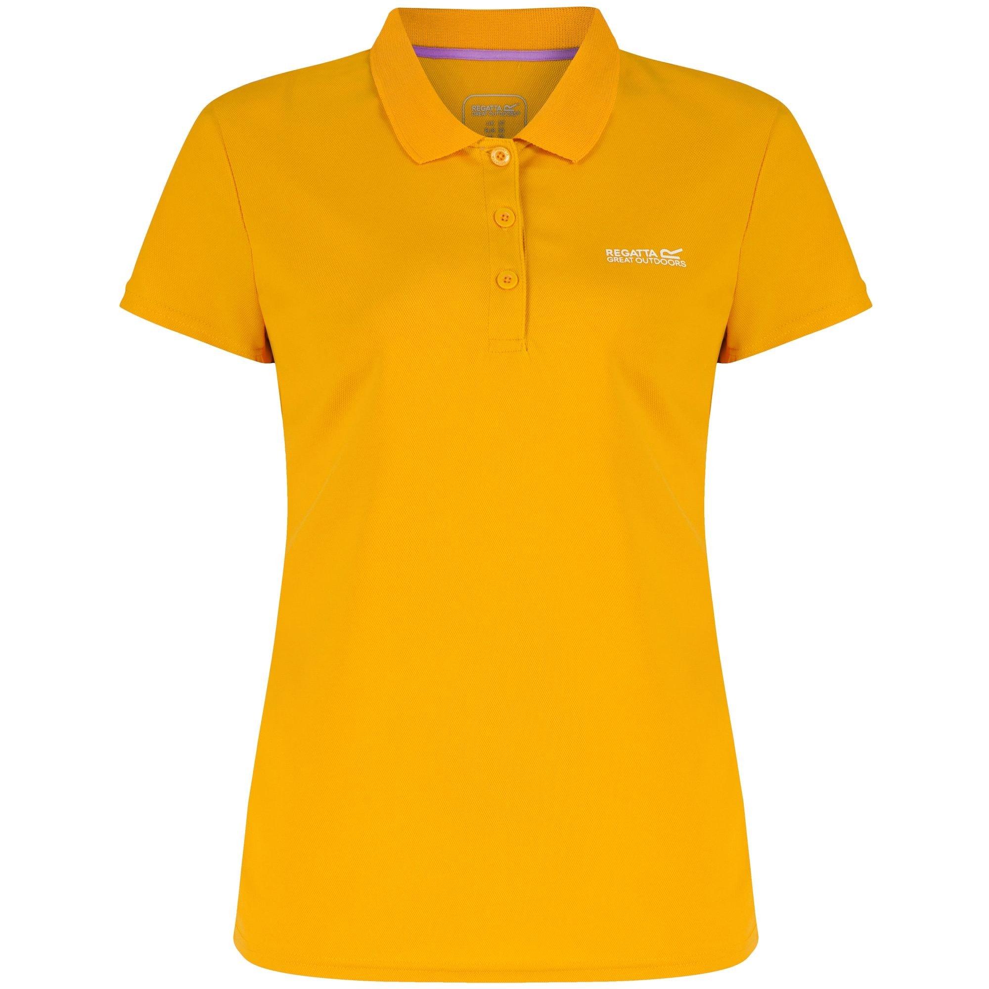 Regatta Poloshirt Great Outdoors Damen Maverik III Kurzarm Polo Shirt
