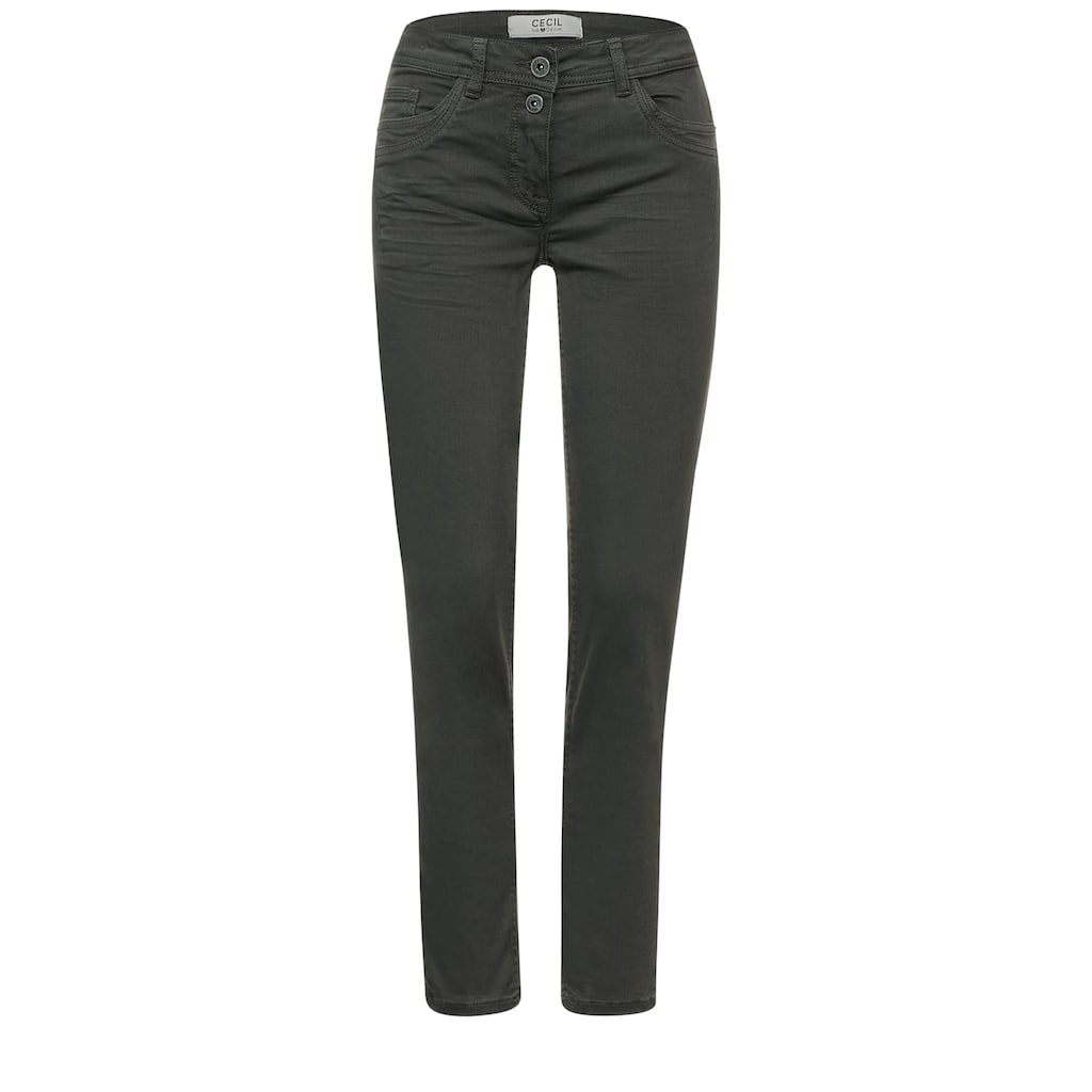 Cecil 7/8-Jeans, im Colour Style