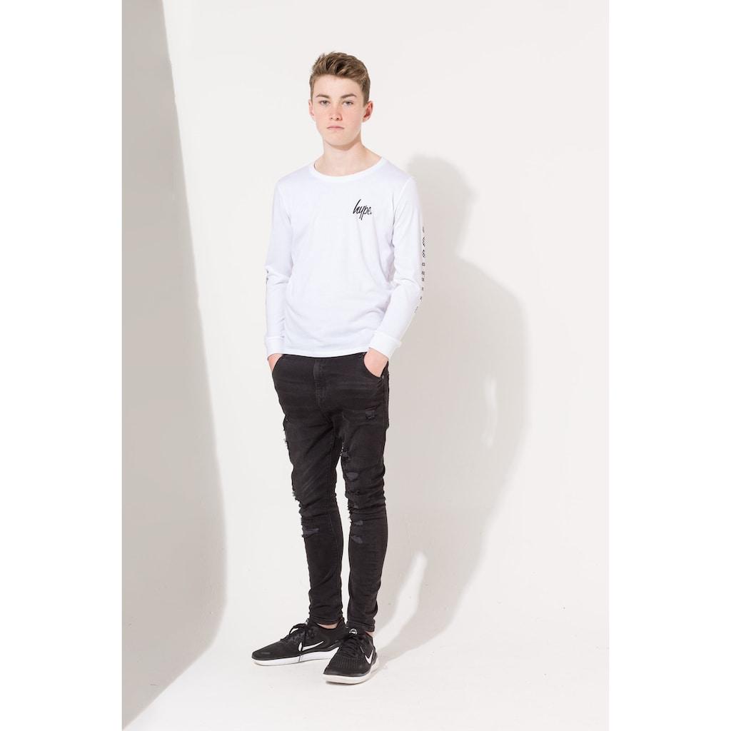 Hype Langarmshirt »Jungen Mini Script Langarm T-Shirt«