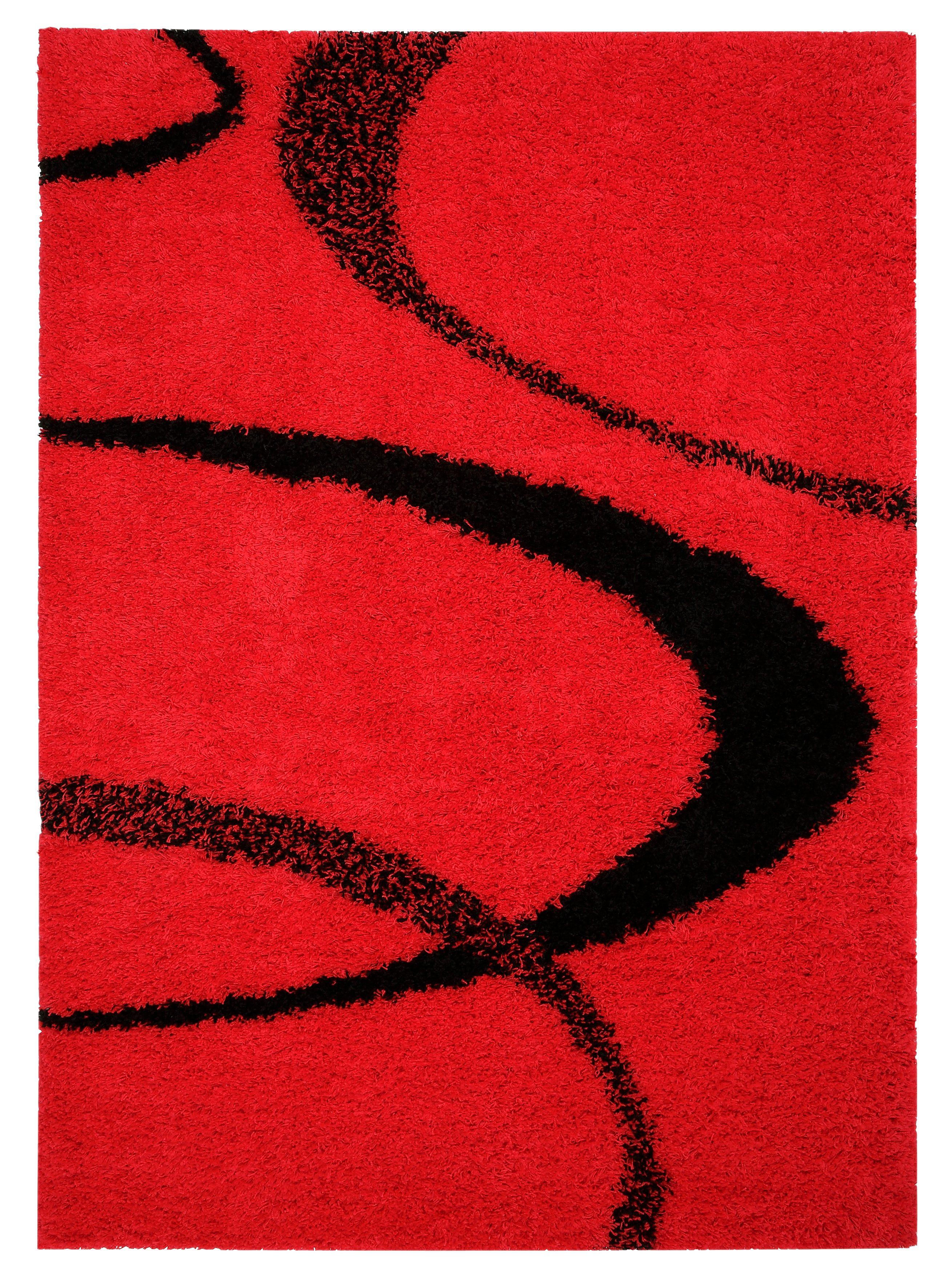 Hochflor-Teppich Ankara my home rechteckig Höhe 52 mm maschinell gewebt