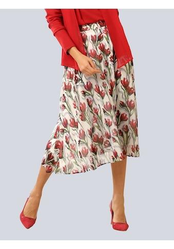 Alba Moda Sommerrock, im floralem Dessin kaufen