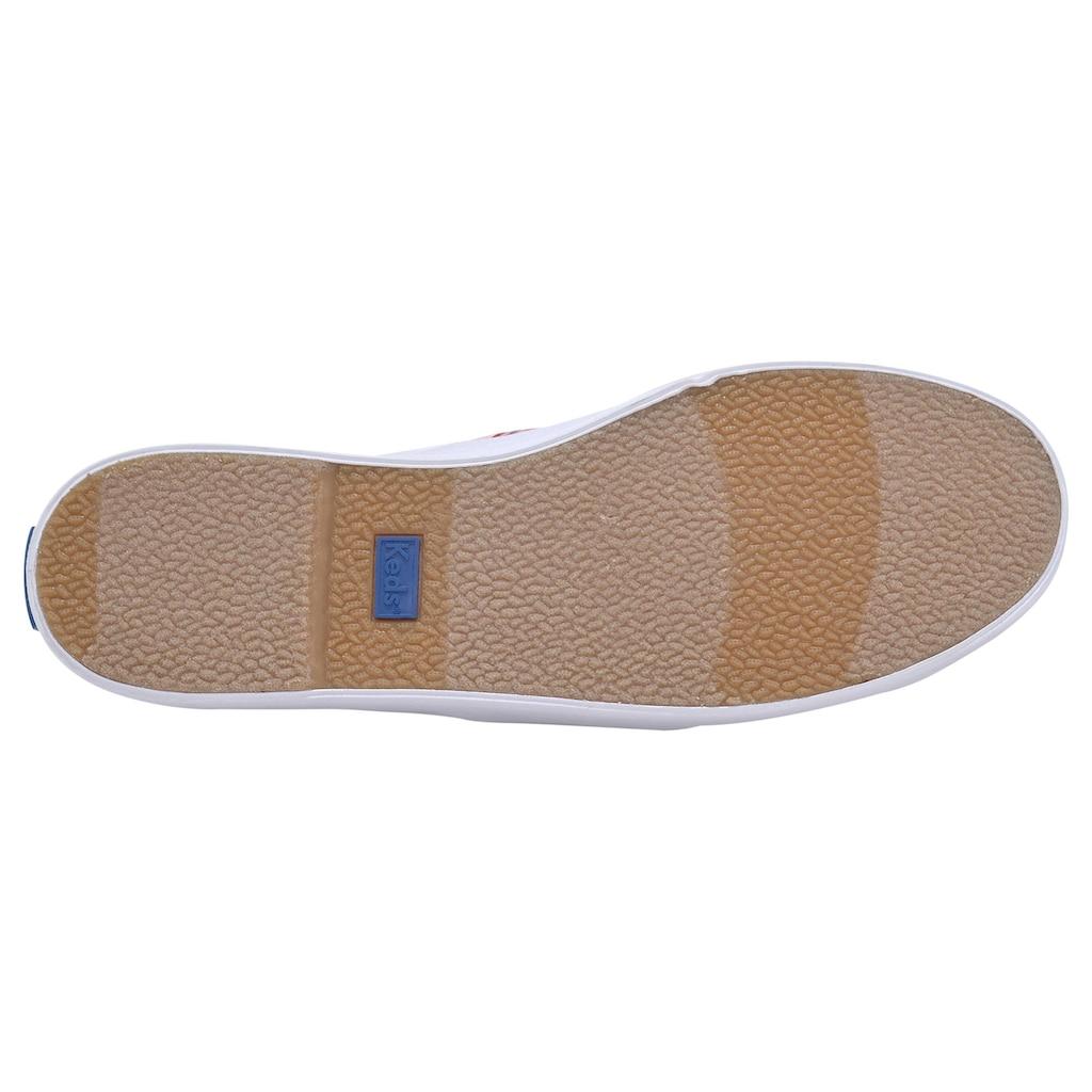 Keds Sneaker »KICKSTART RAINBOW WEBBING«