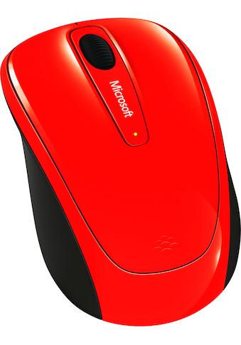 Microsoft »Wireless Mobile Mouse 3500 Flame Red« Maus, 2.4 GHz (RF Wireless, 1000 dpi) kaufen